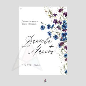 flores burdeos + azul _mo